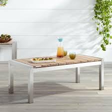 whitewash outdoor furniture. Macon Teak Outdoor Coffee Table - Whitewash Furniture N