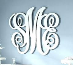 wood monogram letter wall hanging painted size personalized wooden letters for initials decor hangi wooden monogram letters for wall personalized