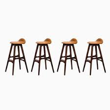 model od 61 bar stools by erik buch for oddense maskinsnedkeri 1960s set captain dining chairs