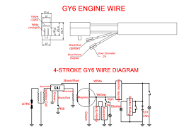 wire cdi 50cc 2 stroke scooter on 50cc 2 stroke engine wiring CDI Ignition Wiring Diagram at 2 Stroke Cdi Wiring Diagram
