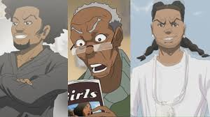 the boondocks 10 years later animated cartoon connect