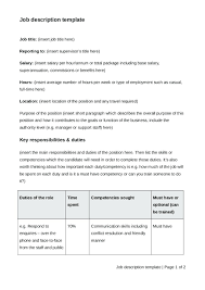 Technical Writing Template