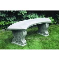 marble antique stone garden bench