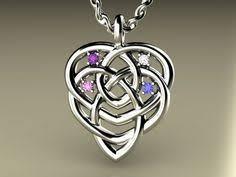 celtic knot motherhood necklace celtic motherhood knot birthstones celtic knots celtic symbols