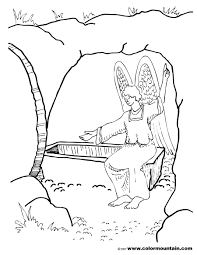 Small Picture Christ Resurrection Coloring Page For Resurrection Coloring Page