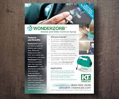 serious professional flyer design for kt chemicals by see why flyer design by see why for specialty chemical company needs an informational marketing flyer