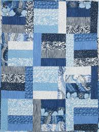 Quilt Patterns For Boys Fascinating The Modern Baby FREE Blue Is For Boys Quilt Pattern By Beverly