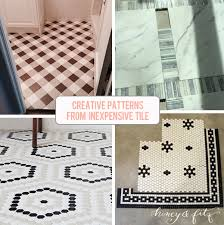 Patterns tile floors 1920s Museoshopcom Creative Tile Flooring Patterns