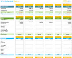 Personal Weekly Budget Templates Weekly Budget Excel Magdalene Project Org
