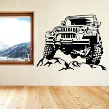 jeep wall art new arrival cool jeep car home decor art wall stickers home modern fashion jeep wall art
