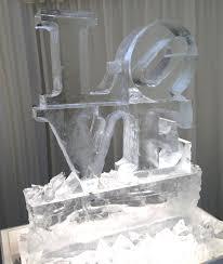 Love Wedding Decorations Ice Sculpture Wedding Decorations A Unique Idea