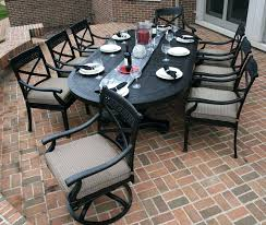 8 person patio table lovable outdoor dining set round
