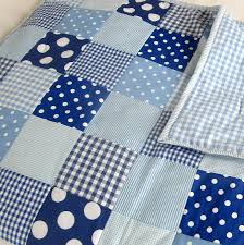 patchwork quilt personalised girls and boys by the fairground ... & Blue patchwork quilt Adamdwight.com