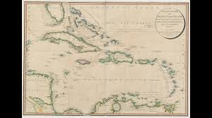 Chart Of Caribbean Islands A General Chart Of The West India Islands The British Library