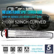 Philips Curved Led Light Bar Philips 52inch 2100w 9d Curved Led Work Light Bar Spot Flood