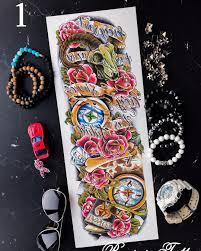 переводные татуировки Tattoo рубрика значение татуировки компас