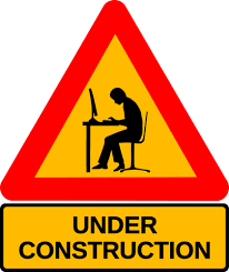 Under construction road sign | Public domain vectors