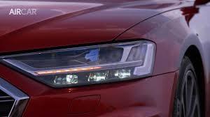 2018 audi a8 interior lighting. 2018 audi a8 hd matrix led - oled laser light animation interior lighting