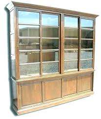 oak bookcases with glass doors bookcase with solid doors oak bookshelves wood bookcases sliding glass wooden