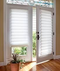 window treatments for glass doors vignette modern roman shades