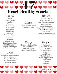 Healthy Diet Chart For Heart Patients 47 Heart Healthy Snack Ideas Heart Healthy Snacks Heart