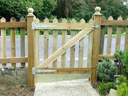 wood picket fence gate. Picket Fence Gate Wood Gates Wooden .