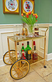 images hollywood regency pinterest furniture: pristine hollywood regency faux bamboo tea bar cart with smoked glass  via etsy