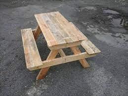 diy pallet picnic table easy pallet ideas