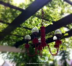 freckle face girl how to make a solar chandelier the busy momma s guide