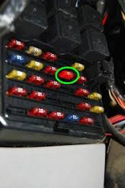 brandon s projects windstar brake pressure deactivation switch find the circled fuse 10 according to the map on the cover and pull it out hold the fuse up to light to see if it is blown or not