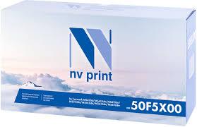 Тонер-<b>картридж NV Print</b> 50F5X00, черный, для лазерного ...