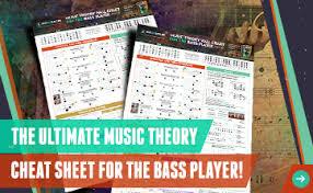 Music Theory Wall Chart Music Theory Wall Chart For The Bass Player Aris Bass Blog