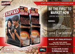 Kopiko Vending Machine