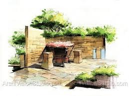 Small Picture 120 best sketch images on Pinterest Landscape design