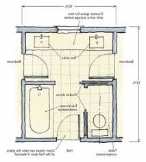 Jack Jill Bathroom Floor Plans Jack And Jill Bathroom Layout