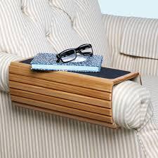 wood flexi sofa arm rest table honey 52598687316 flexible wooden sofa armrest tray table