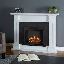 real flame kipling white 53 5 in l x 13 7 in w x 41 5 in h electric fireplace real flame kipling electric fireplace white glass