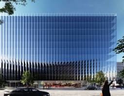 exterior curtain wall floor intersection. curved glass curtains will give washington, d.c., office building more views and floor space exterior curtain wall intersection