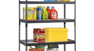 edsal adjule black steel shelving unit 5 tier extra strong review
