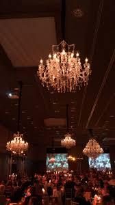 Exklusive Alt Neu Gala Mit Kronleuchtern Und Kerzen