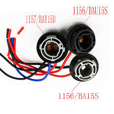 y 1x car led light bulbs holder socket plug adapter wiring harness y 1x car led light bulbs holder socket plug adapter wiring harness connector p21w 7528 1156