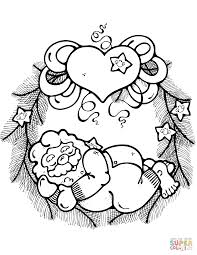 Christmas Wreath Coloring Pages Free Coloring Pages