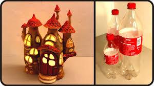 DIY Fairy House Lamp Using Coke Plastic Bottles