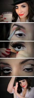 white rabbit makeup tutorial emo makeup