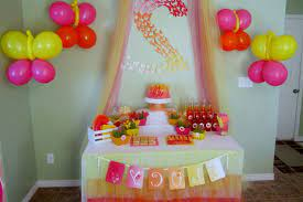 simple home birthday party decorations