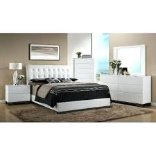 Contemporary King Bedroom Sets Clearance White Contemporary 6 Piece ...