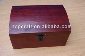 Large Wooden Boxes To Decorate Wooden Treasure Chest Storage Box 60cm Decoratepaint Wood Craft 56