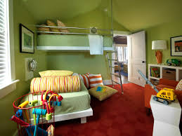 Bedroom:Coolest Green Bedroom Colors Decor to Give Refreshing Nuance Comely Kids  Bedroom Design With