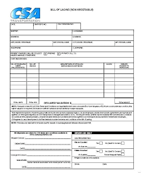 Blank Bill Of Lading Forms Free Bill Of Lading Template Photo 40 Free Bill Of Lading