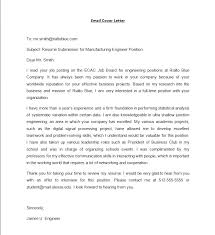 resume and cover letter by email attached resume email letter email cover letter template